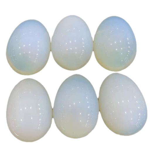Extra-large Crystal Opalite Egg