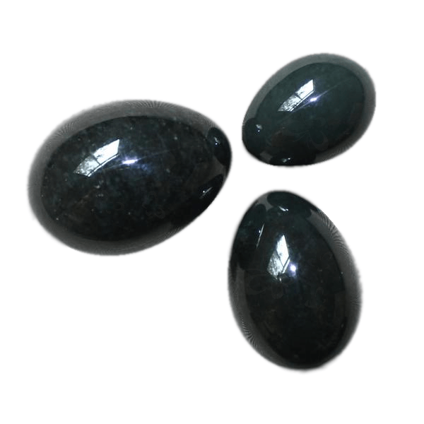 S/M/L Undrilled Natural Nephrite Jade Egg