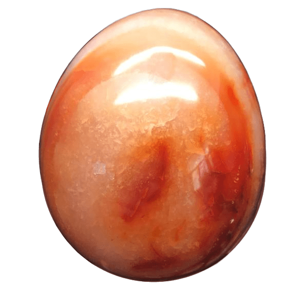 Extra Large Polished Natural Onyx Egg
