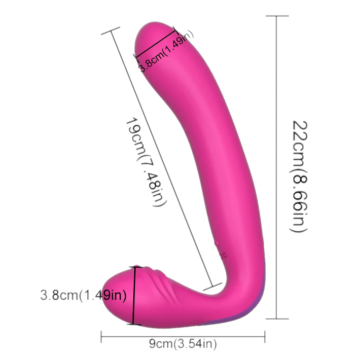 Intimacy Enhancer Strap On Vibrator