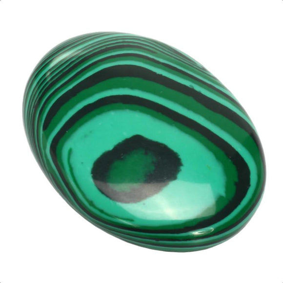 Malachite Yoni Egg | Smooth Malachite Gemstone Quartz Egg