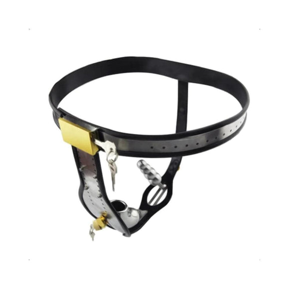 The Sad Saddle Male Chastity Belt 27.56 inches to 43.31 inches Waistline