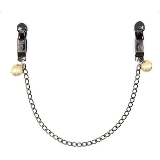Role-Play Fetish Nipple Clamps With Chain
