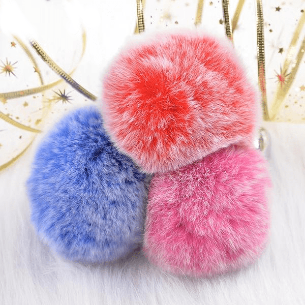 Frosted-Colored Bunny Tail Butt Plug 3pcs Set