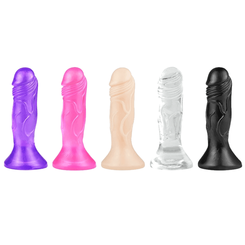 Colorful Jelly-Like Realistic Small Dildo