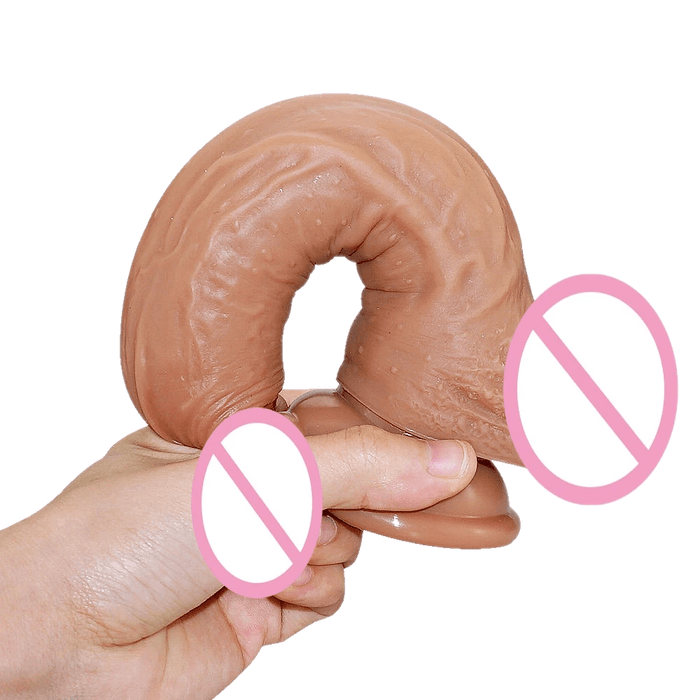 Anxiety Busting 9 Inch Silicone Suction Cup Dildo