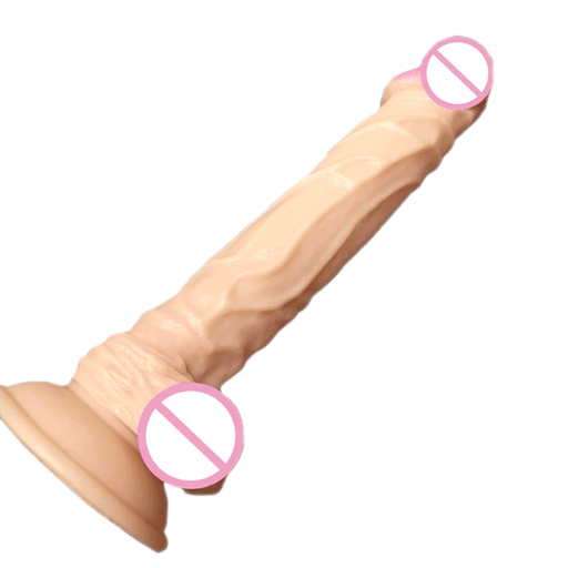 Realistic Feel 9 Inch Suction Cup Dildo