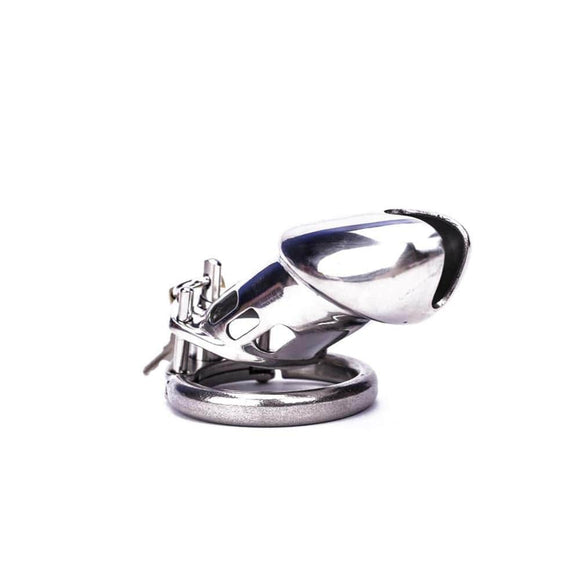 Intimate Inmate Metal Chastity Device
