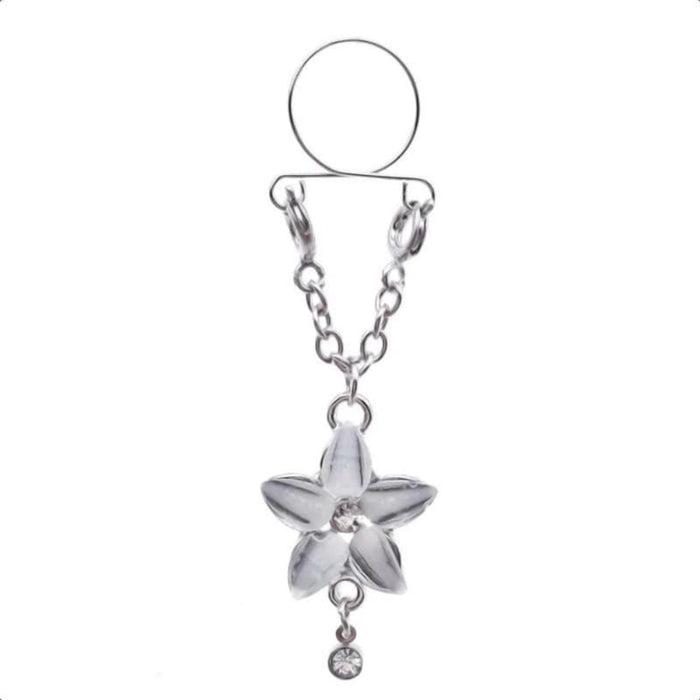 Flower Design Clip on Nipple Clamps