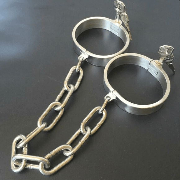 Heavy Duty Stainless Leg Shackles