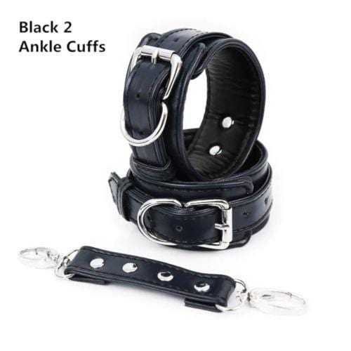 High End Leather Ankle Cuffs
