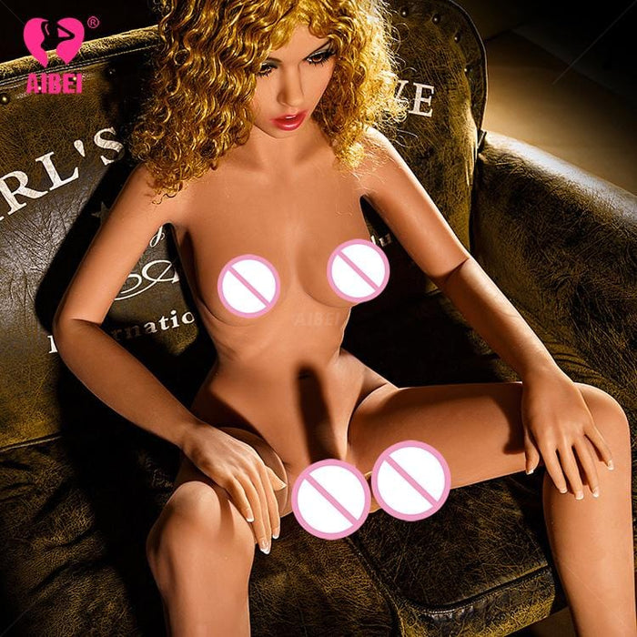Goldie: Curly Shemale Sex Doll