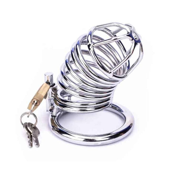 Put A Ring On It Metal Chastity Device 3.31 inches long