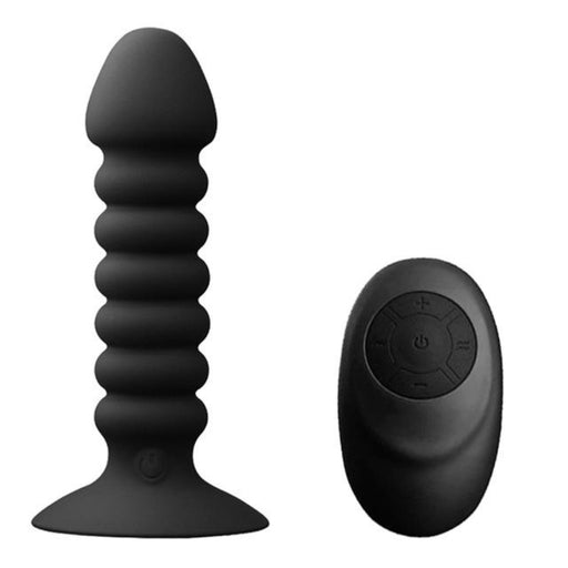 Ribbed 10-speed Wireless Anal Vibrator