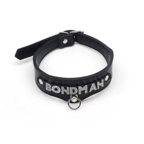 Bond Servant Male Slave Collar