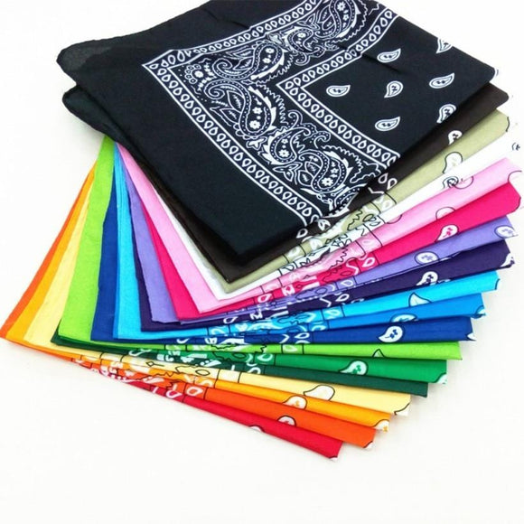 Printed Cotton Bandana Cloth Gag