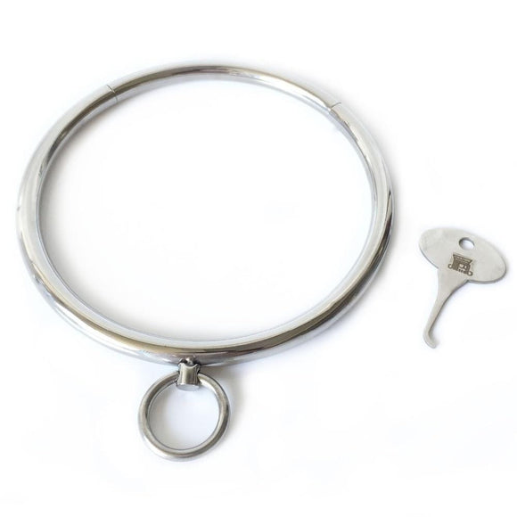 Rounded Stainless Locking Eternity Collar