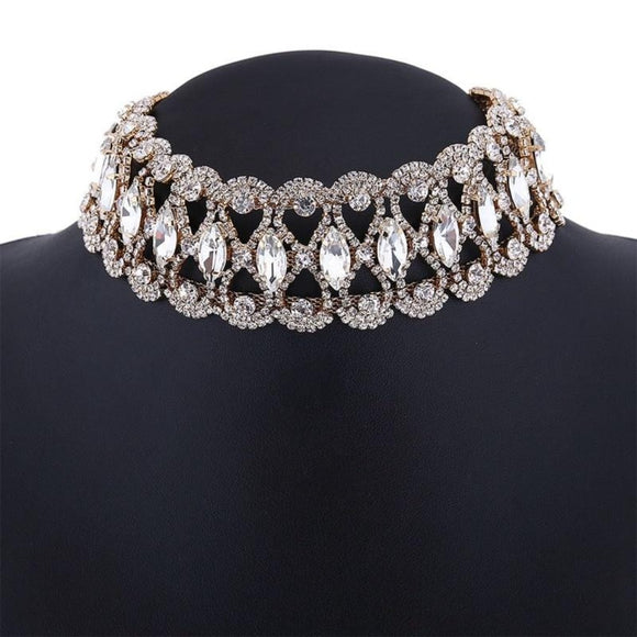 Neck Bling Slave Collar Jewelry
