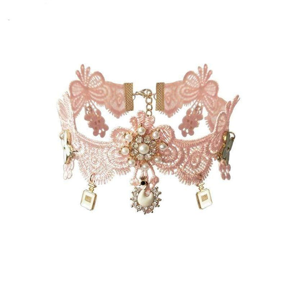 Vintage Cosplay Party Lace Collar