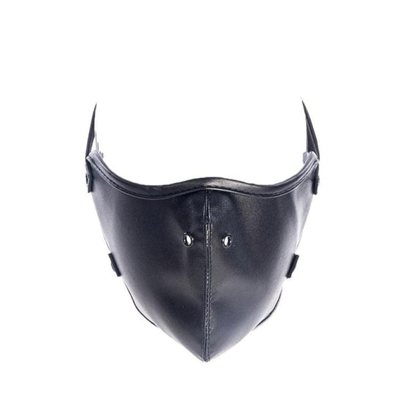 Keep Quiet Leather Panel Gag