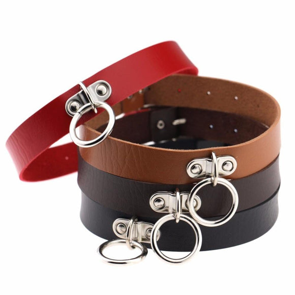 No-Nonsense Beltlike BDSM Collar
