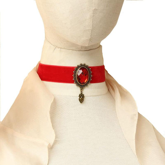Red Flannelette Collars for Women