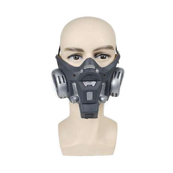 Realistic Gas Mask Fetish Cosplay Gear