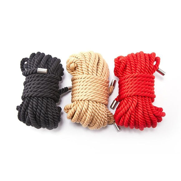Soft Cotton 10-Meters Shibari Rope