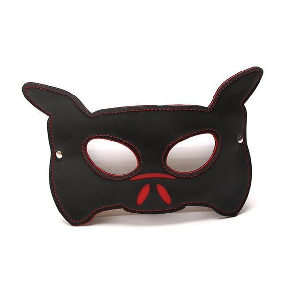 Whipping Dog Leather Puppy Mask