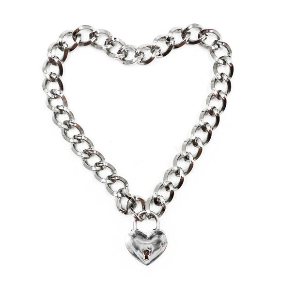 Locking Chainlike Metal Collar