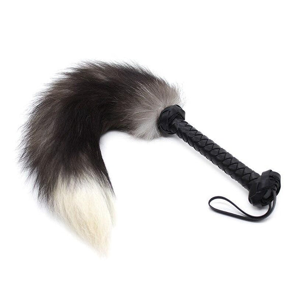 Sexy Rabbit Fur Flogger