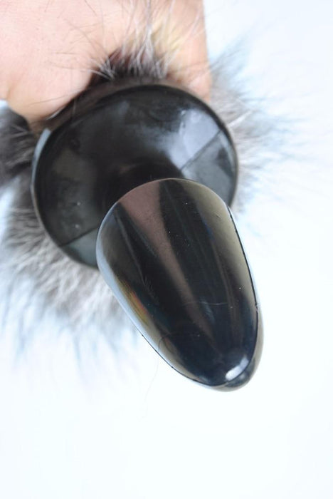 Alluring Pussycat Silicone Tail Butt Plug 19 Inches Long
