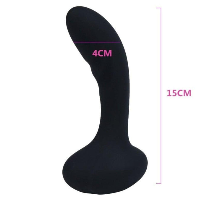 8-Speed USB Rechargeable Vibrating Butt Plug 5.91 inches long