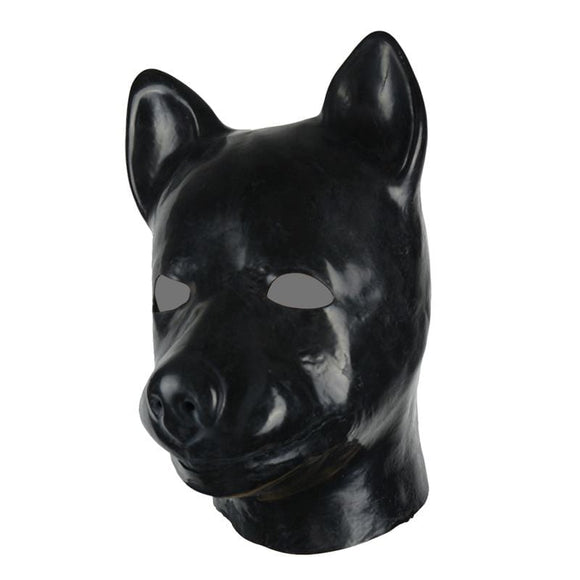 Animal Play Latex Dog Mask