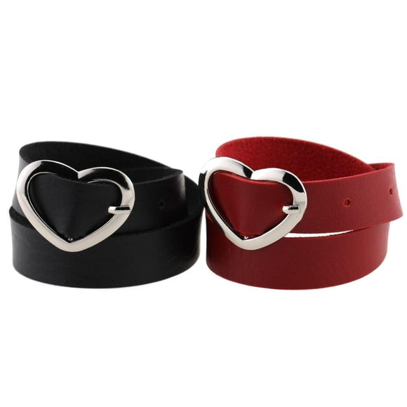 Cute Heart-Shaped Buckle Baby Girl Collar