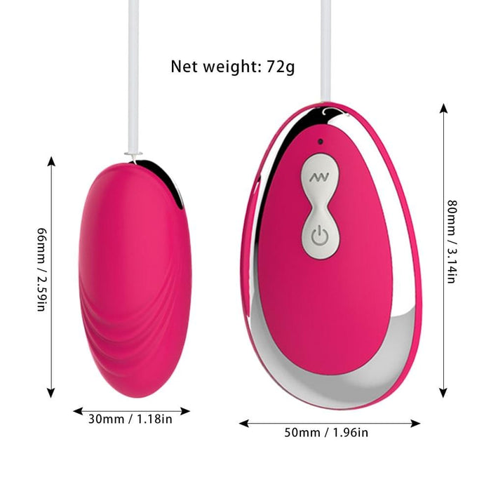 20-speed Wired Vibrating Ben Wa Balls