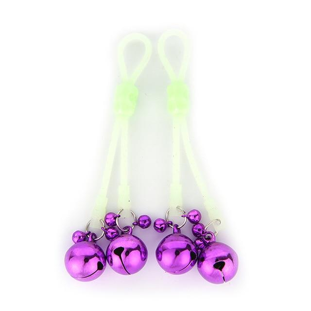Luminous Flirting Nipple Clamps for Couples