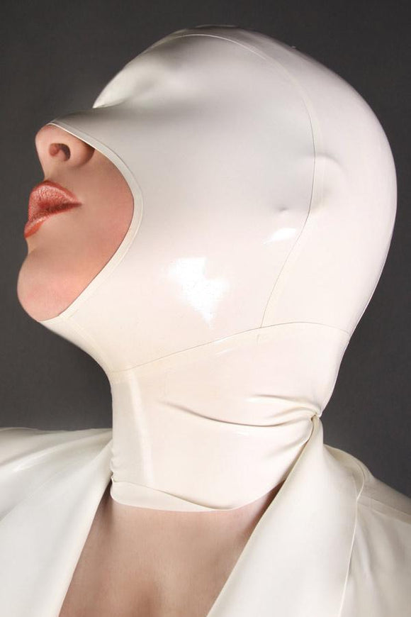 Helpless Predicament White Latex Mask