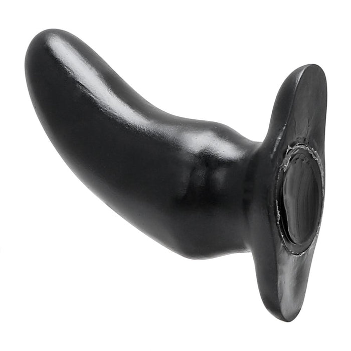 Big Black Banana Silicone Butt Plug 5.12 inches long