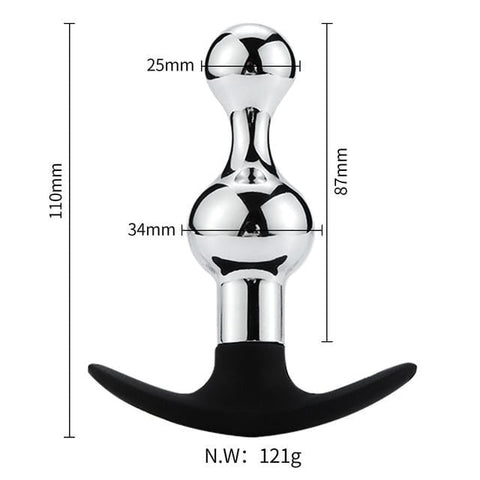 Various Designs Vibrating Butt Plug 3.94 to 6.5 inches long