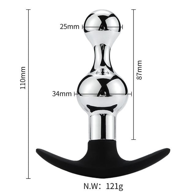 Various Designs Vibrating Butt Plug 3.43 to 5.43 Inches Long