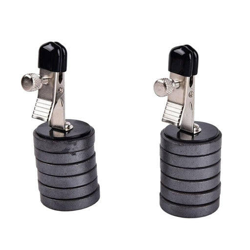 Adjustable Magnetic Discs Nipple Clamp Weights