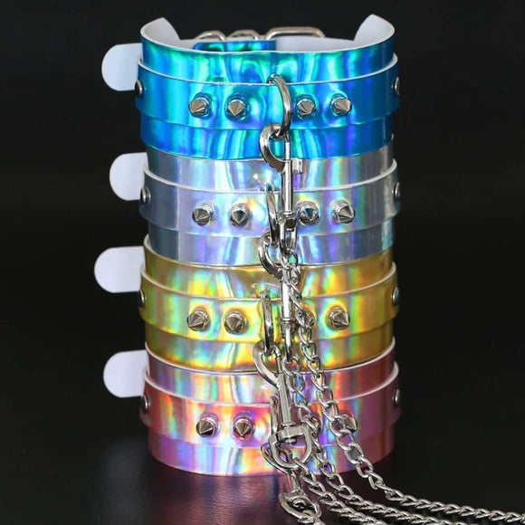 En Vogue Holographic BDSM Collar
