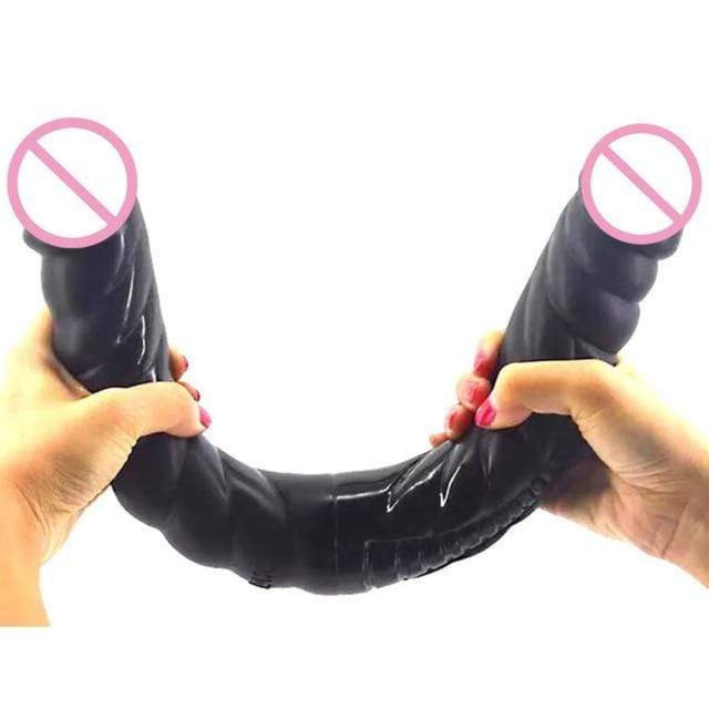 Flirting and Masturbation 16 Inch Double Headed Dildo