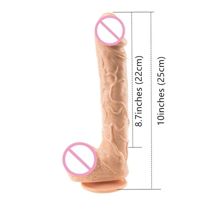 Perfect Female Masturbator Large Realistic Dildo