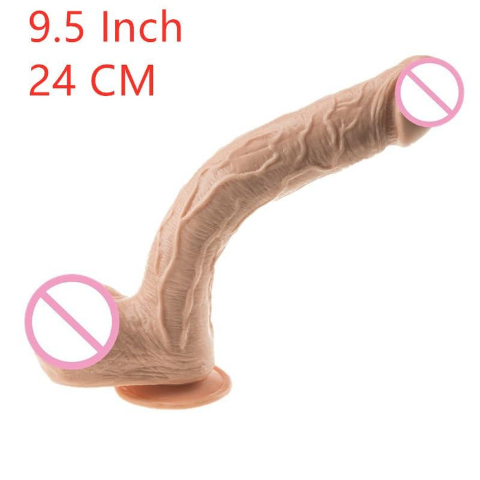 Veins of Stimulation Large Anal Dildo