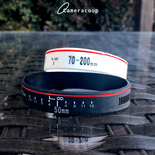 Cameracoup® Focal Length Ring Bracelet
