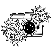 Photography & Flowers Tee