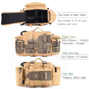 Cameracoup® Tactical Camera Bag