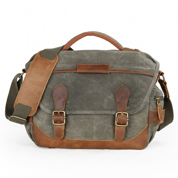 Dallas Vintage Messenger Bag
